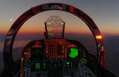DCS World F/A-18C Tutoriel ! Le HMD en A/G, première implémentation  par ZANK