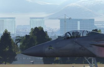 Preview DCS world 2 alpha - Map Nevada