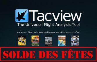 -40% sur toutes les licences de Tacview !