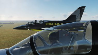 DCS VIRTUAL BREITLING : Volez en BackSeat   en L39