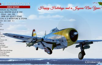 IL-2 Great Battles: Soldes d'hiver et bilan de cette année 2020 si particulière...