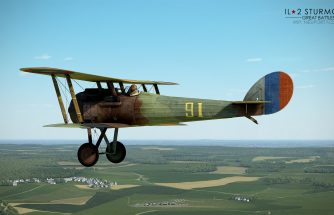 IL-2 Great Battles: JDD N°278 Premiers screens du Nieuport 28 C1 pour FC II