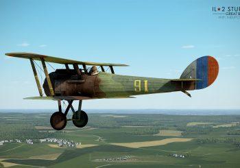 IL-2 Great Battles: JDD N°278 Premiers screens du Nieuport 28 C1 pour FC II
