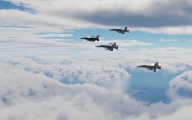 DCS: update 2.7 enfin de vrais nuages en multi.
