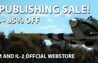 Il-2 Great Battles; Dover et ROF: Soldes du 26 Mai au 02 Juin 2021