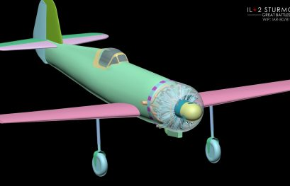 IL-2 Great Battles JDD N°284 Projet en cours pour le chasseur Roumain IAR 80/81