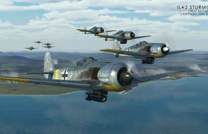 IL-2 Great Battles JDD N°285 Campagne solo en préparation pour le FW 190 A-5