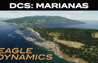 DCS : Infos Flash - Carte Mariannes disponible sur la version Stable