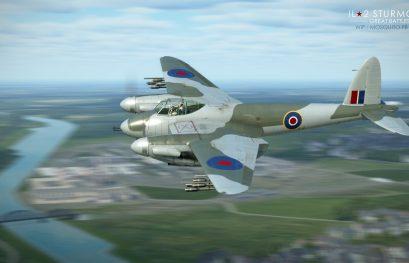 IL-2 Great Battles: JDD N°290 Mosquito FB Mk VI en WIP pour l'opus Bataille de Normandie !