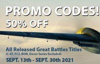 IL-2 Great Battles: - 50% de réduction en code promo !