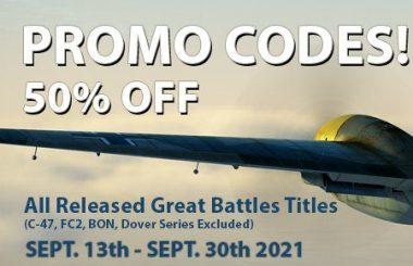 IL-2 Great Battles: – 50% de réduction en code promo !